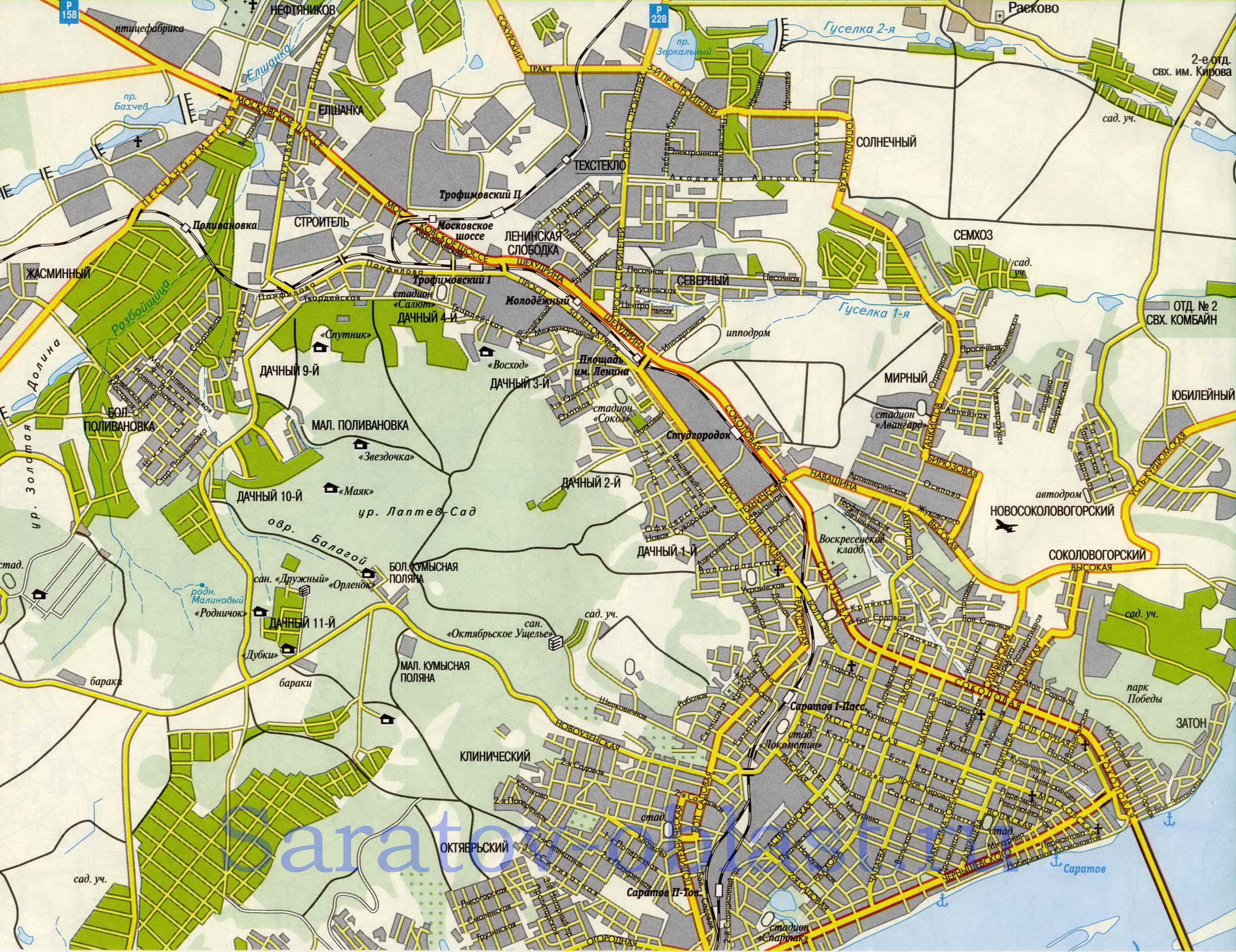 схема проезда маршруток 56 саратов